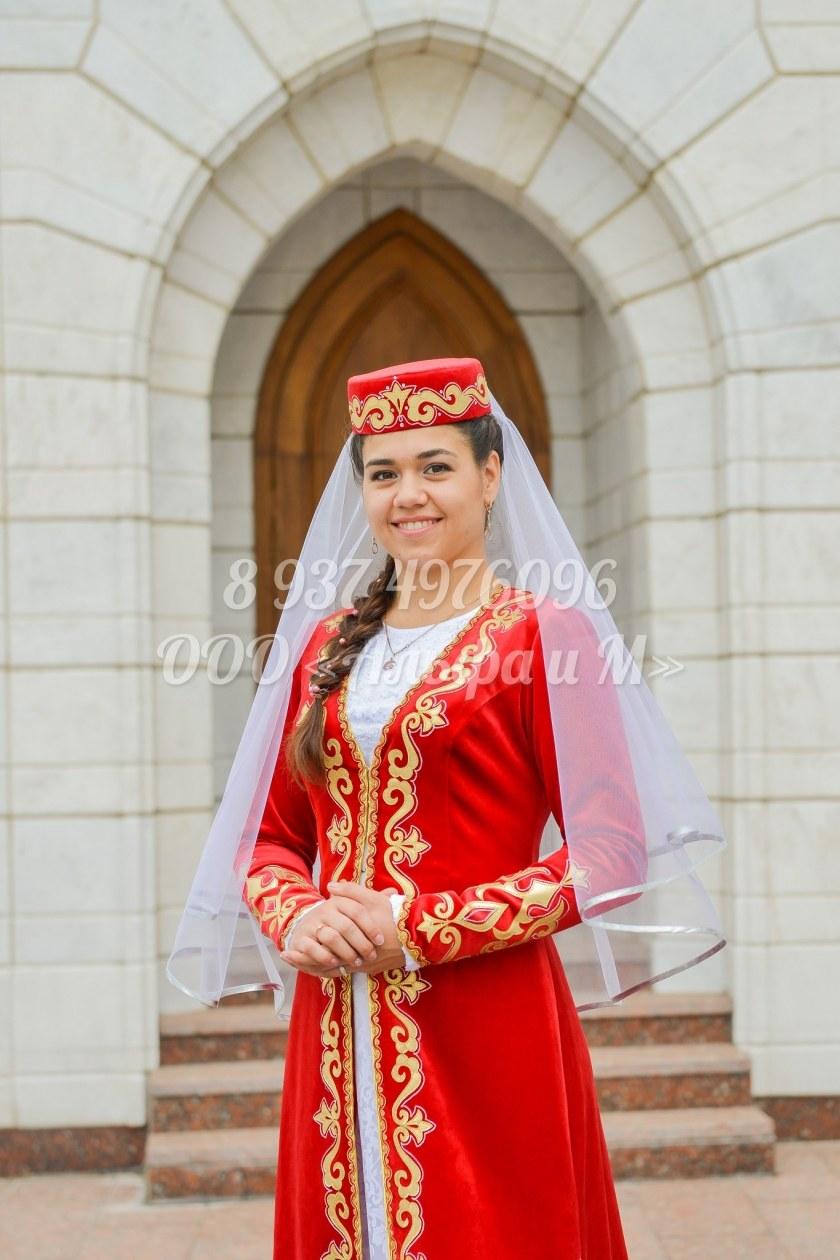 Выкройки костюмов татарских фото 518