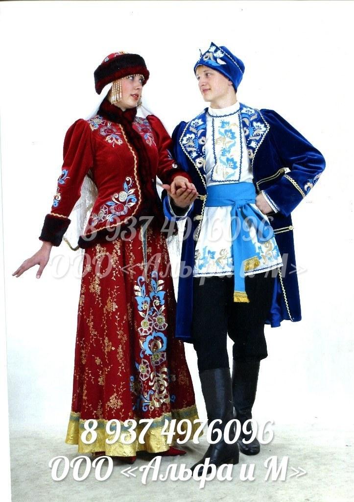 русский народный женский и мужской костюм фото